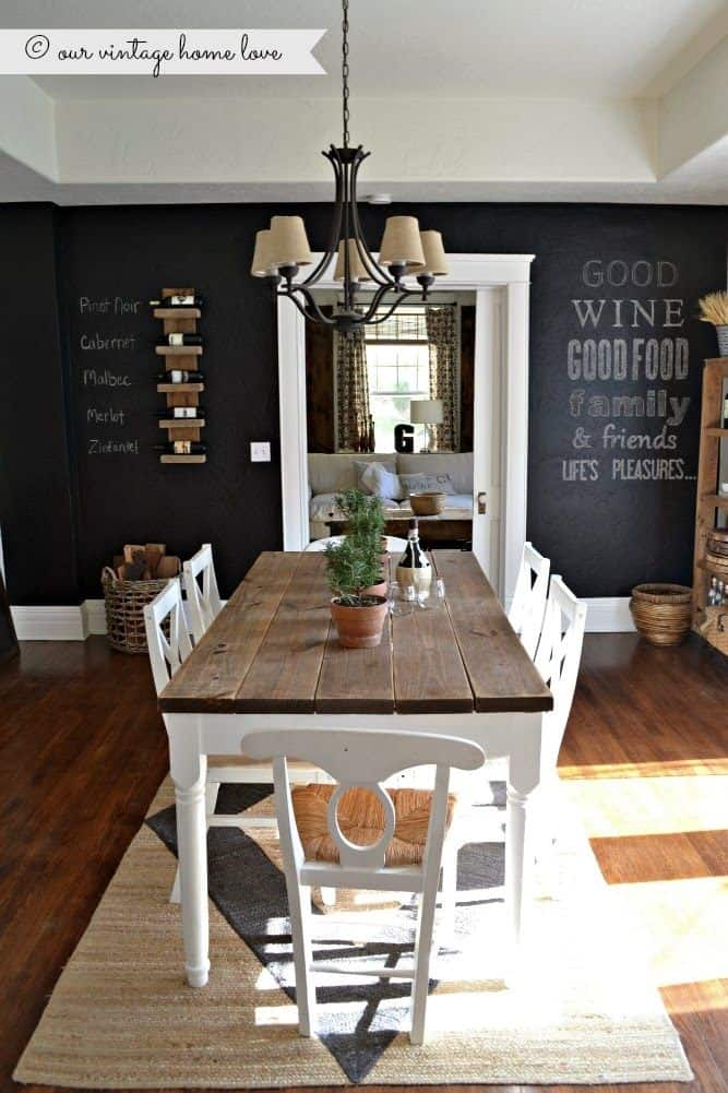 10 Magnificent Chalkboard Walls That You Are Going To Love ...