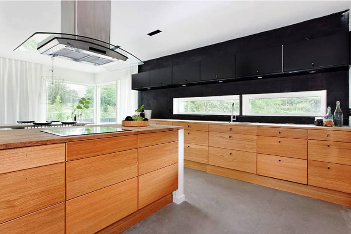 kitchen wooden furniture. Outstanding Black And Wood Kitchens That Will Add Style To Your Home - Homesthetics Inspiring Ideas For Home. Kitchen Wooden Furniture H