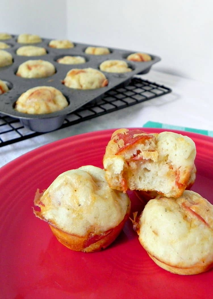 67. CHEESE AND PEPPERONI BITES