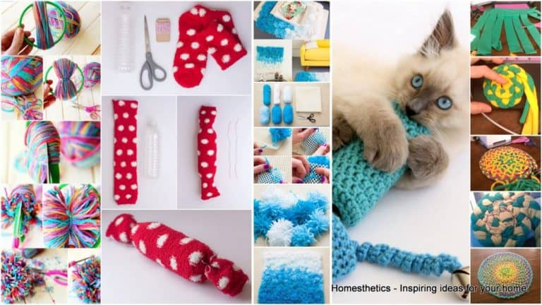 47 Brilliant DIY Easy Cat Toys for Your Furry Friend