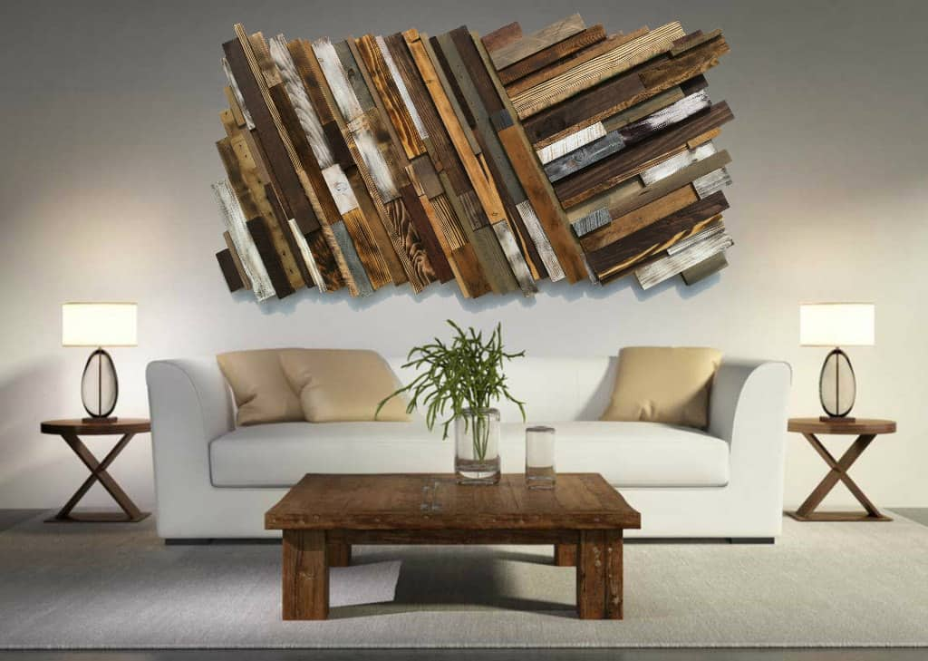 Wall Art Ideas: 10 Outstanding DIY Pallet Furniture That Will Take Your