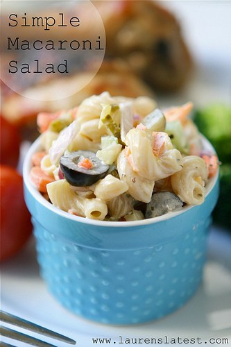 94. SIMPLE MACARONI SALAD