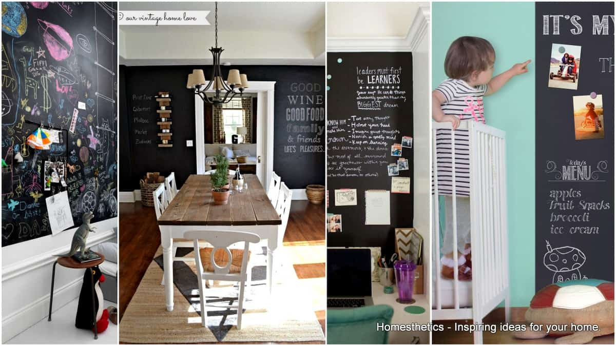 Magnificent Chalkboard Walls That You Are Going To Love