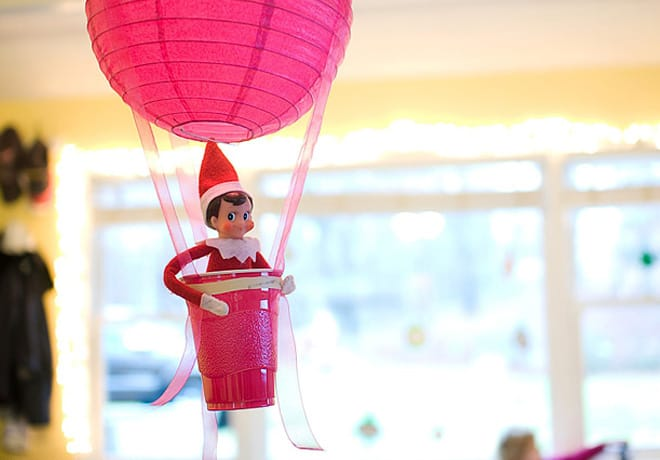 113. Elfie upgrades his Hot Air Balloon Ride