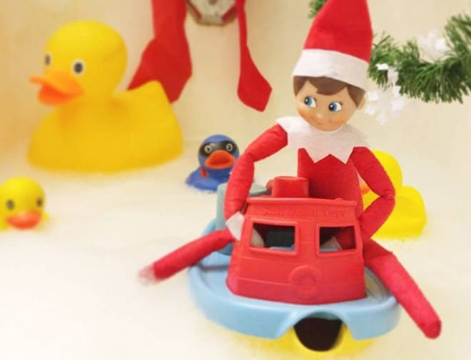 76. Elfie goes on a Boat Ride