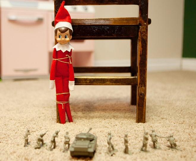 30.Elfie's Execution by the Miniature Firing Squad