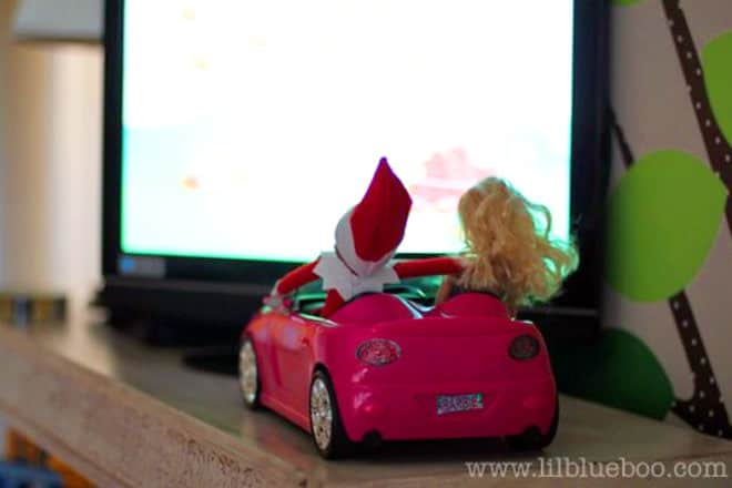 46. Going on a Drive with Miss Barbie