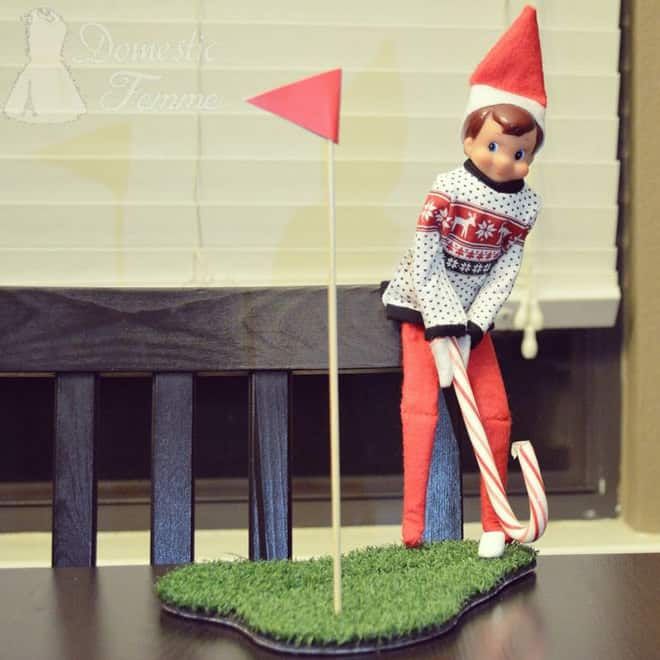 12. Elfie Playing Golf