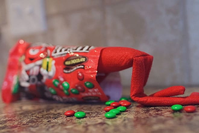 45. Trapped in an M&M Wrapper
