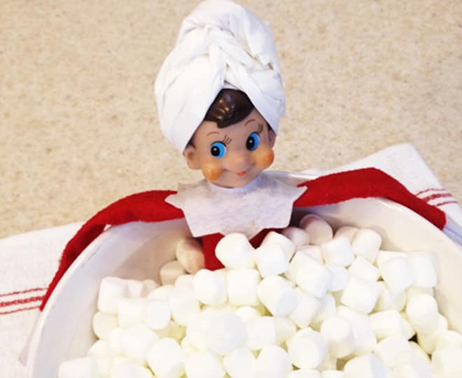 38. Bathing in Marshmallows