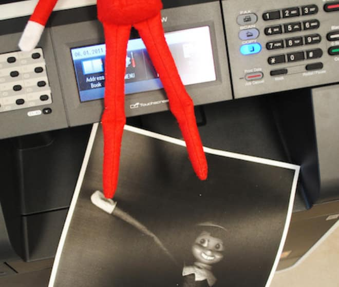 10.Going Bonkers with the Photocopy Machine