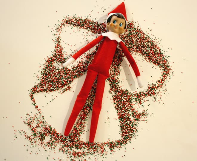 60. Making a Sugar Sprinkle Angel