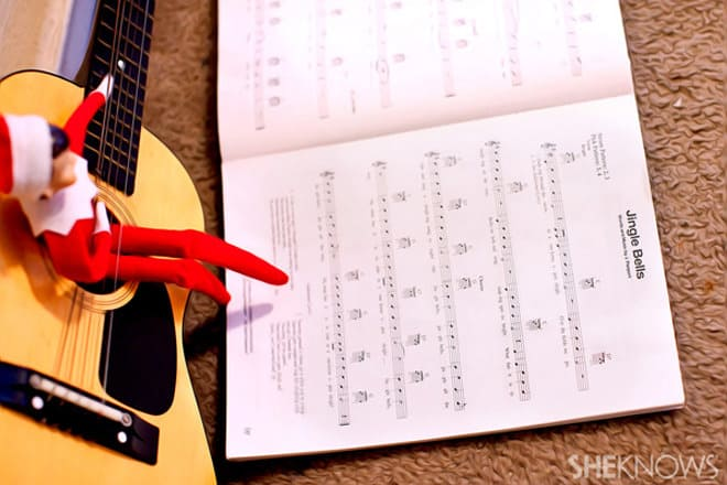 36.Playing the Guitar