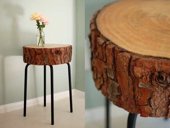 Fab Art DIY Rustic Log Decorating Ideas for Home and Garden6