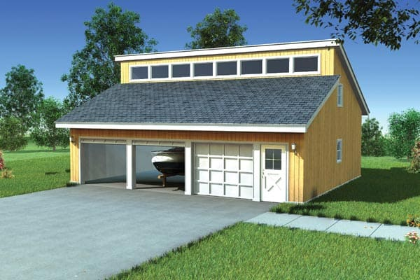 Learn about the 20 most popular roof types for your future for Clerestory style shed plans