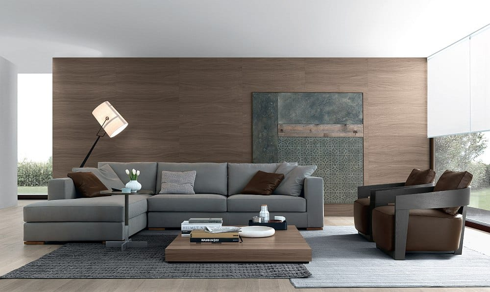 Sleek Tobia side table along with the stylish coffee table