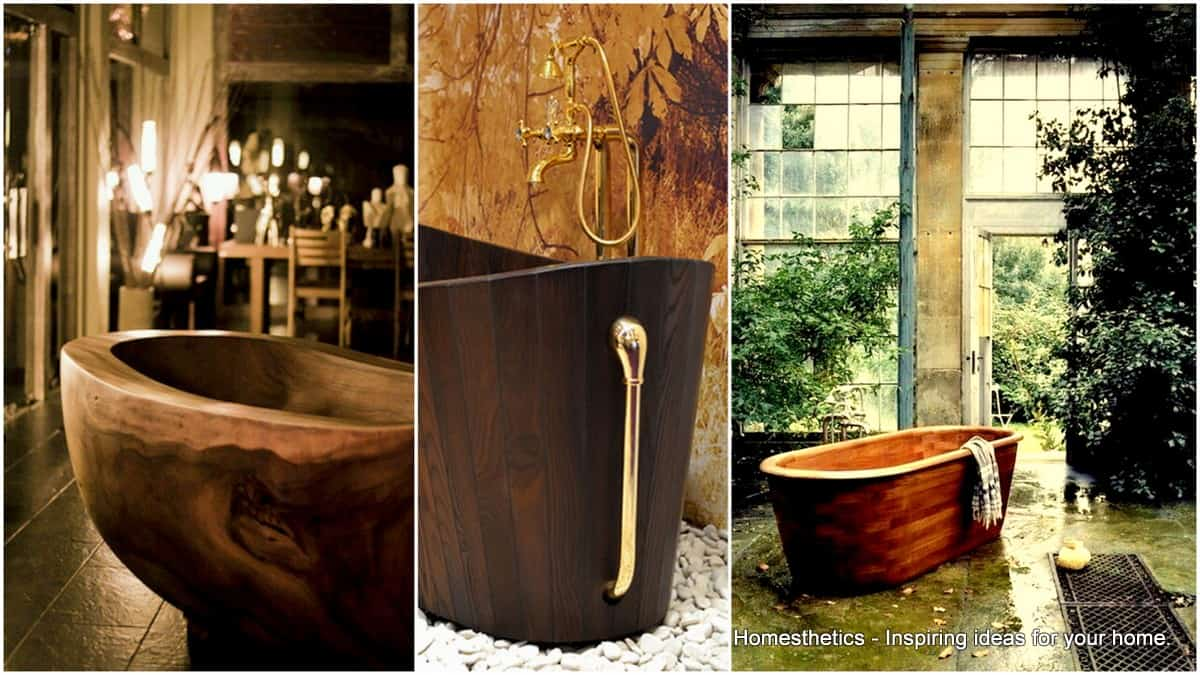 35 Super Epic Wooden Bathtub Design Ideas To Consider Homesthetics Inspiring Ideas For Your Home