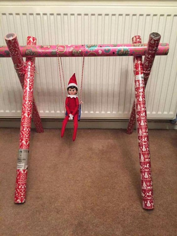 124. Elfie and his Special Christmas Swing