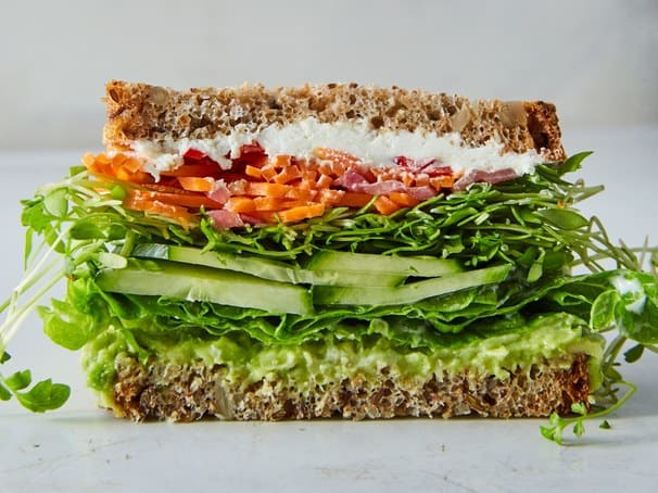 88. THE VEGGIE SANDWICH OF CALIFORNIA