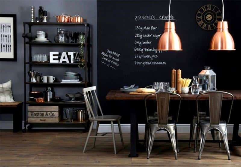 10 Magnificent Chalkboard Walls That You Are Going To Love