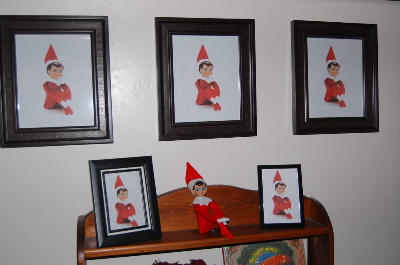 55. Elfie admiring his Portraits