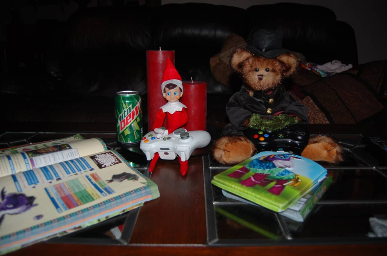 22. Elfie Playing Video Games