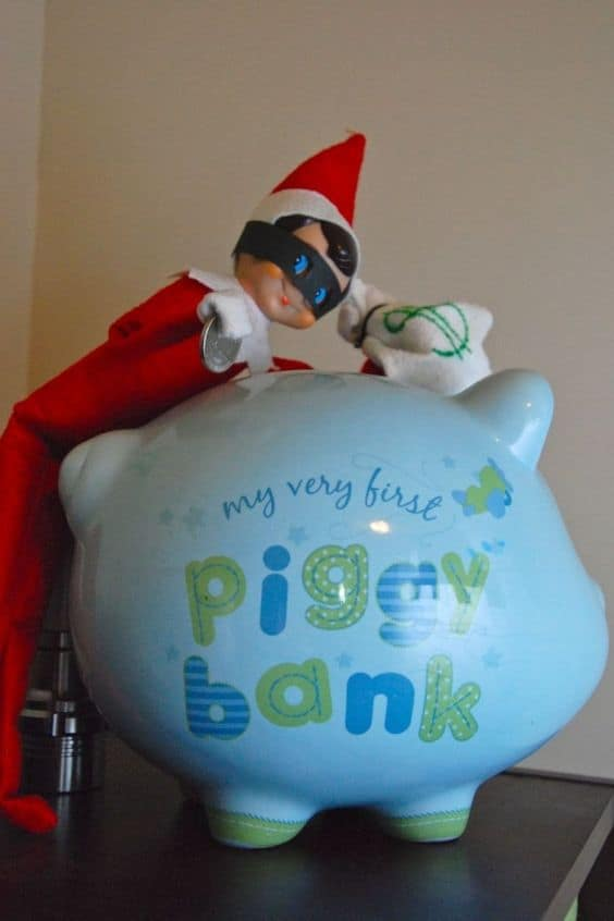 133. Elfie robs the Piggy Bank Again