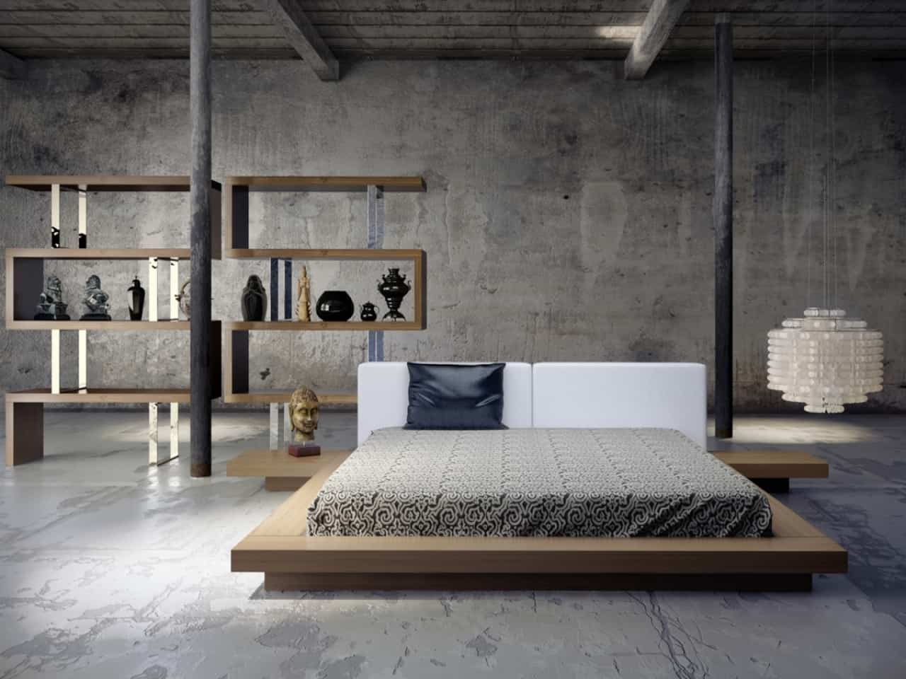 10 Cool And Distinctive Industrial Bedrooms That You Have