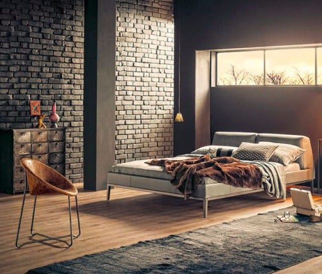 Bedroom Ideas Designs Inspiration Trends And Pictures: 10 Cool And Distinctive Industrial Bedrooms That You Have