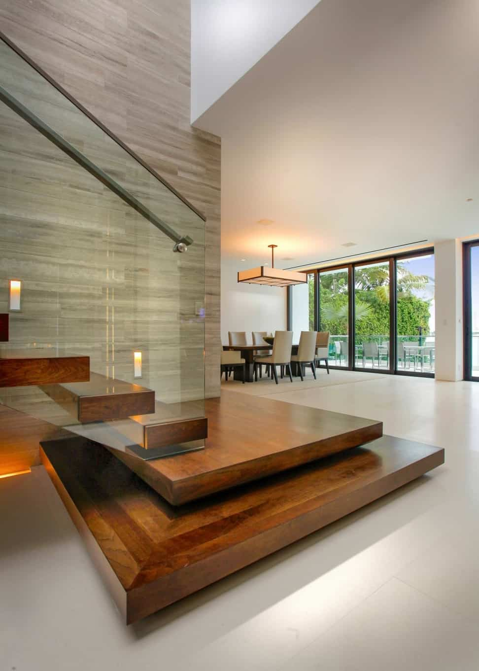 photos hgtv modern staircase with floating wood steps glass railing interior glass railings interior design contemporary interior design school nyc blogs commercial designers apps app websit 1