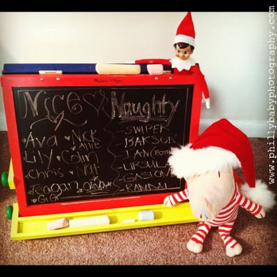 90. Elfie's Nice and Naughty List
