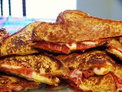 17. PIZZA GRILLED SANDWHICHES