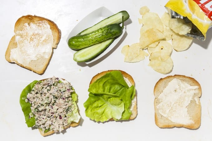 11. SUPER SIMPLE CLASSIC TUNA SALAD