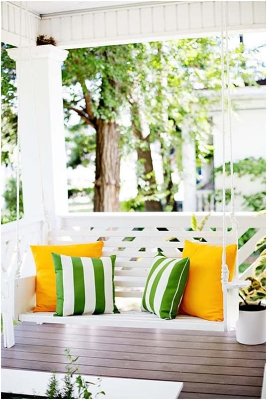 THE ELEGANT WHITE PORCH SWING plans