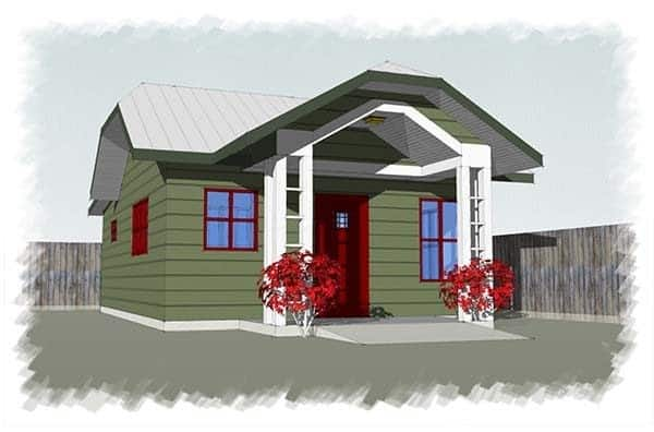 CASCADIA COTTAGE tiny house plans