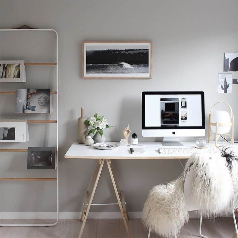 Stylish scandinavian home offices that will make your more for Office design nordic