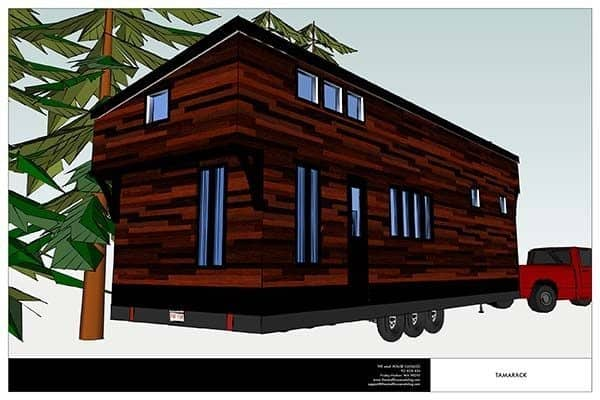 THE TAMARACK TINY HOUSE
