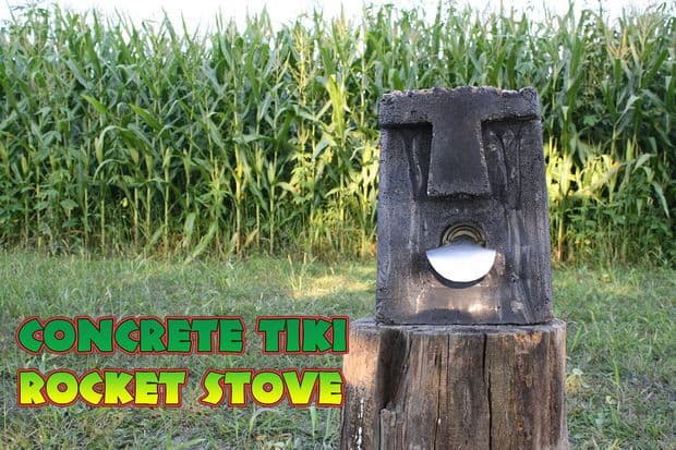 THE TIKI STOVE WITH MAGICAL POWERS
