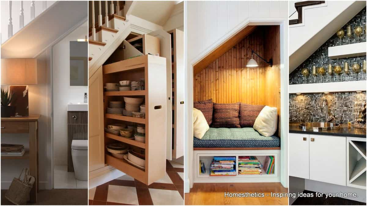 15 Smart Under The Stairs Designs That Will Impress You