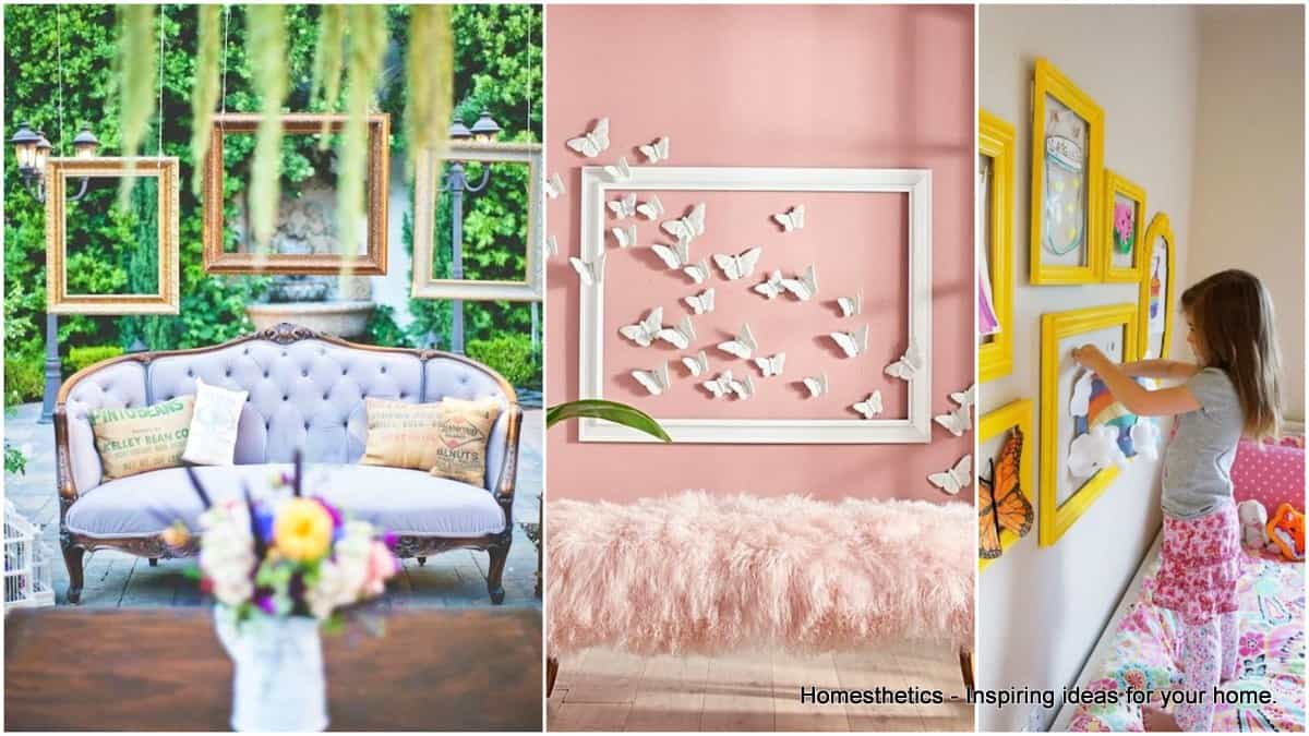 17 Inspiring DIY Empty Frame Projects That Are Easy To Make ...