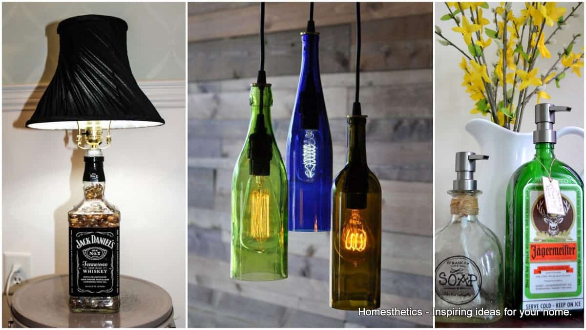 17 outstanding ways to reuse glass bottles homesthetics