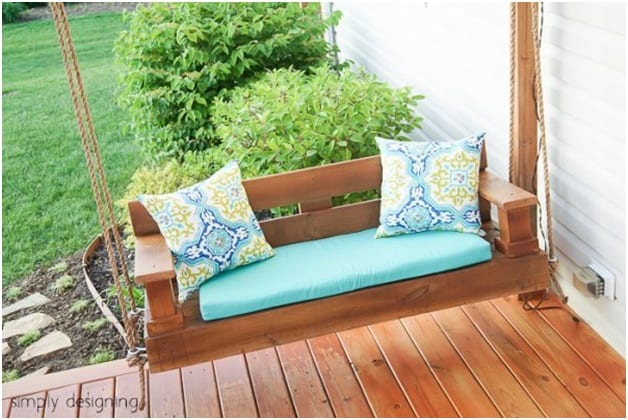 THE STOCKY LITTLE PORCH SWING plans