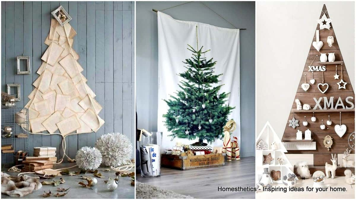 Christmas Tree Alternative.20 Magical Alternative Christmas Trees For A Merry Christmas