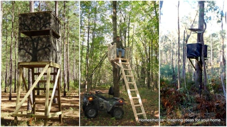 23 Awesome Free Deer Stand Plans You Can Start Right Now
