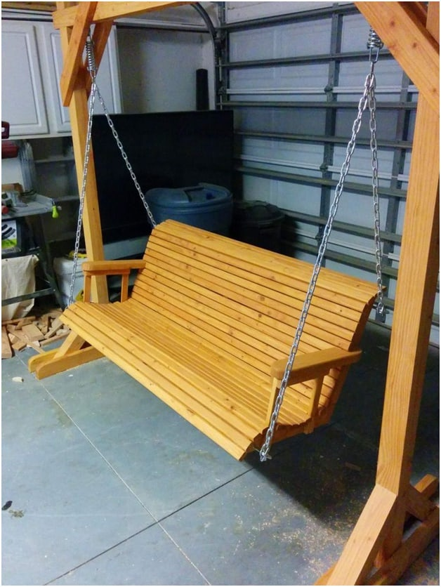 THE REDWOOD PORCH SWING