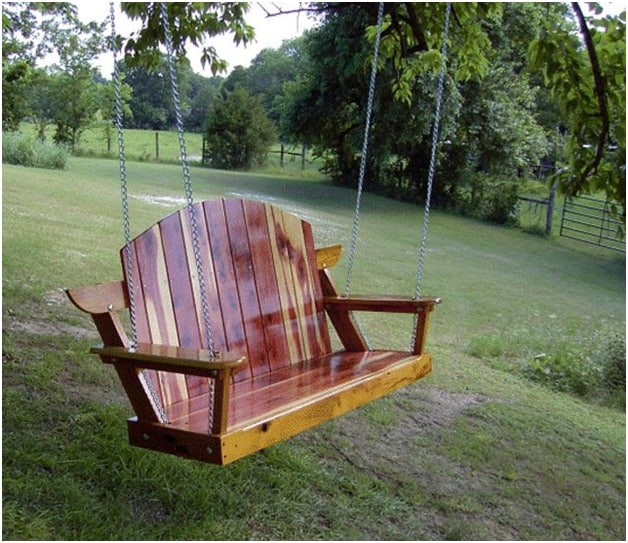 THE BUILD EAZY PORCH SWING