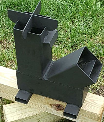 AN INDUSTRIAL MODEL rocket stove