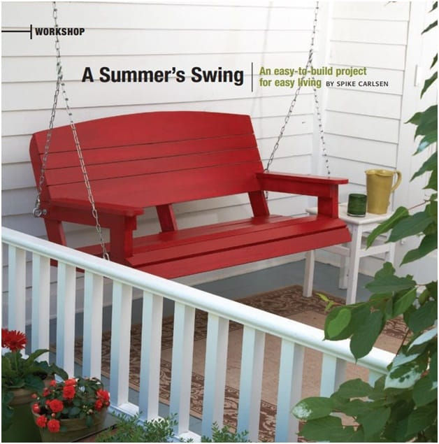 THE ELEGANT SKIL PORCH SWING
