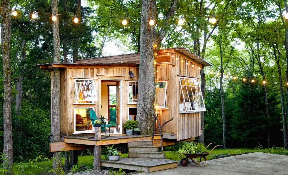 DREAMY TREE tiny house plan