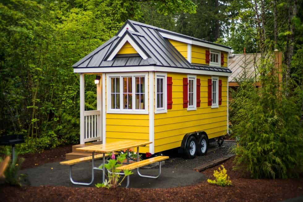 BRIGHT COLORS tiny house plan
